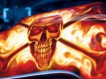 Vemp_0803_02_z 2004_chevrolet_corvette Airbrushed_flaming_skull