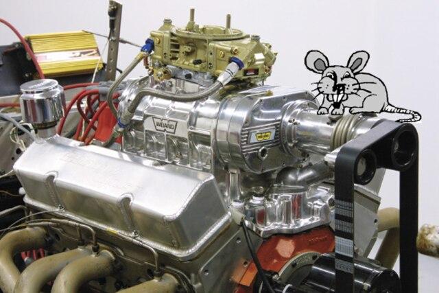 Mini-Blower Mouse Engine Test -Super Chevy Magazine