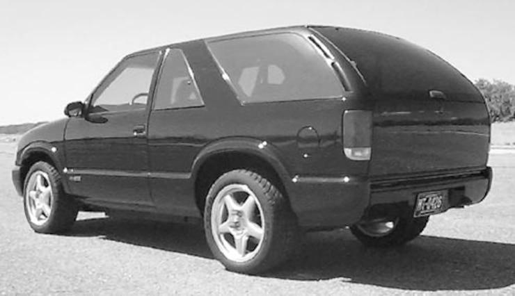 T56 Transmission Swap in a Chevrolet S10/Blazer - Tech