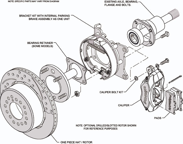 Chevy Clutch Master Cylinder Exploded Diagram