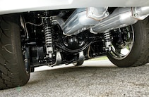 1966 Chevrolet Corvette Silver Suspension