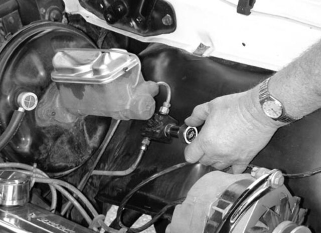 Install a Brake Proportioning Valve - Tech Article - Chevy