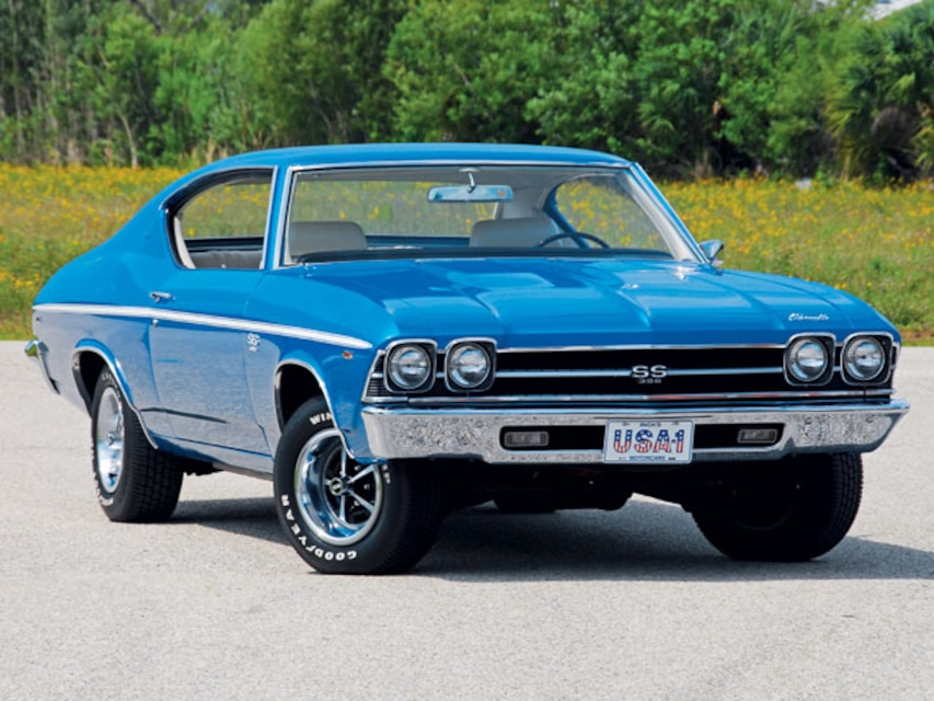 1969 L78 SS396 Chevelle - The Factory's Fastest - Super