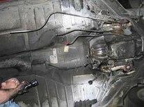 0511vet_10z Chevrolet_Corvette_C4 Undercar_Transmission_Tunnel