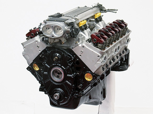 Crate LT1 Engine - Cylinder Head Build - GM High-Tech Performance