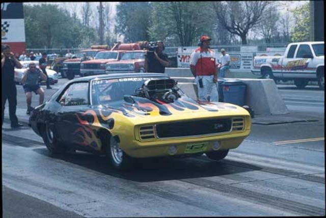 1969 Chevrolet Camaro Drag Racer - Featured Vehicles - Chevy High