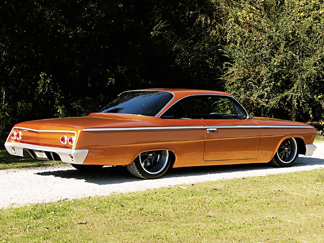 1962 Chevrolet Impala Right Rear View