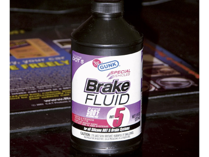 Different Types Of Brake Fluid
