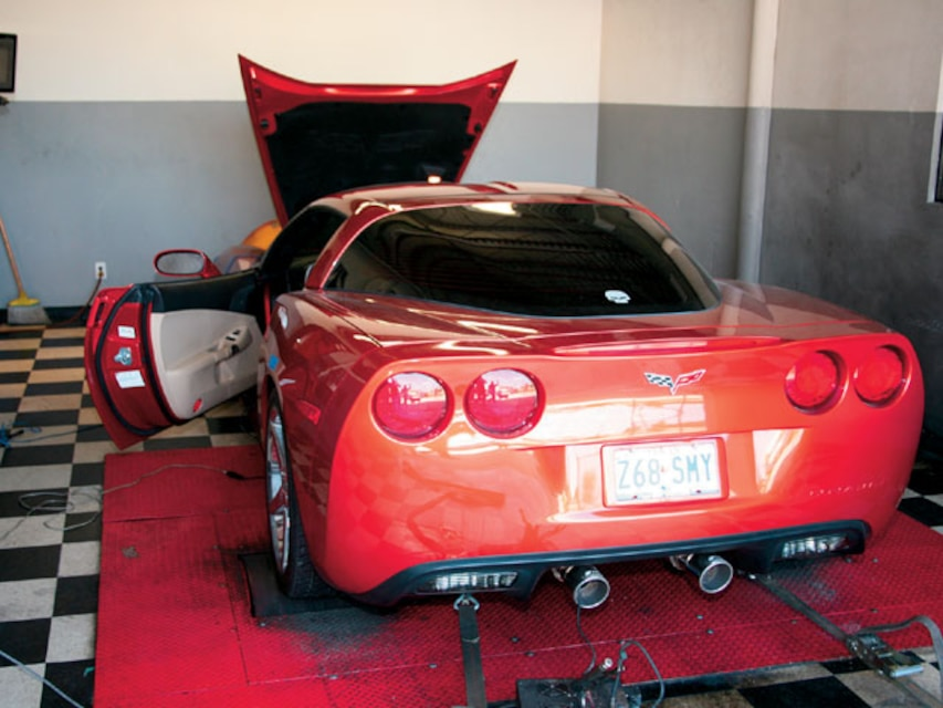 C6 Corvette Exhaust Installation - Factory System Removal