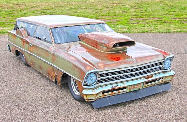 1967 Chevrolet Nova Hood Front View