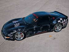 Corvettes Of The 2007 SEMA Show