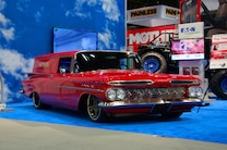 001 SEMA 2015 1959 Chevy Mothers Best Chevrolet Of Show Brushed Bumper