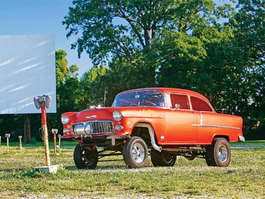1955 Chevy Gasser - Super Chevy Magazine