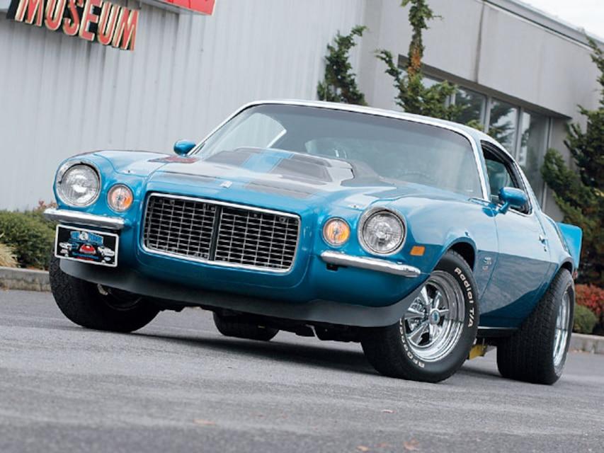 1970 Berger 454 Camaro - Rare Custom-Built Big-Block Coupe