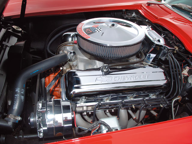 Corp_0704_02_z 1966_chevrolet_corvette_C2 Engine
