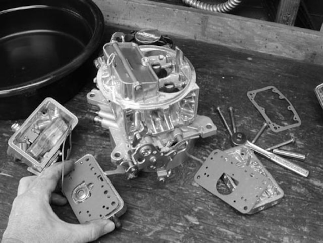 Rebuild a Holley Carburetor
