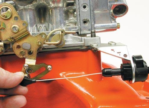 Quadrajet Cruise Control Linkage Stud Chevy GM Throttle Arm Attachment