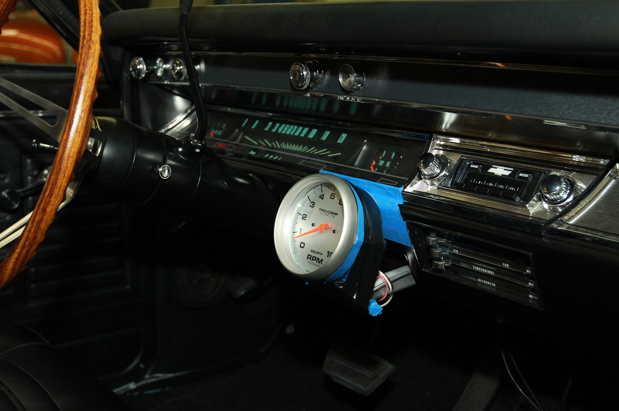 how to wire an electronic tachometer as easy as 1 2 3 chevy diagrams