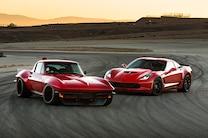 1965 Corvette Pro Touring Vs 2015 Corvette Z06