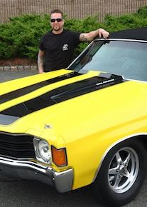 1972 Chevelle Yellow Cowl Big Block 496 19