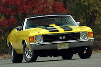 1972 Chevelle Yellow Cowl Big Block 496 18