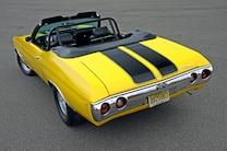 1972 Chevelle Yellow Cowl Big Block 496 16
