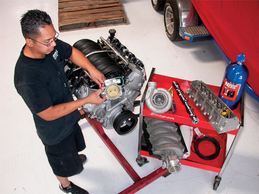 LS Engine Power Packages - LS1 and LS2 Power Recipes - Super