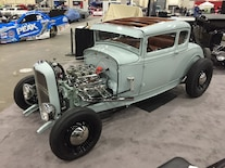 1929 Ford Coupe Highboy Front Driverside
