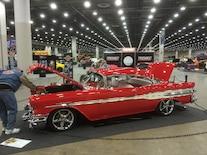 1957 Pontiac Two Door Front