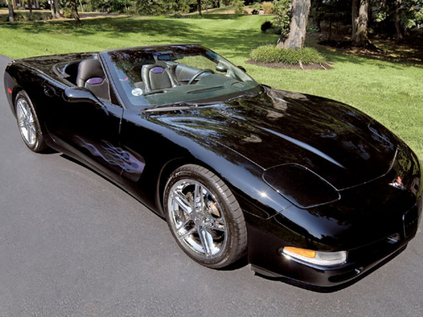 Custom Supercharged 99 Corvette Convertible - Vette Magazine