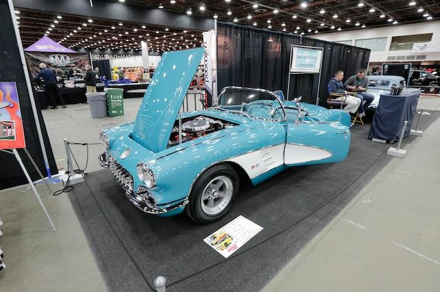 Corvettes 2015 Detroit Autorama 1960 Corvette Blue
