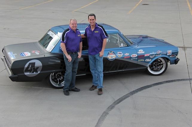 Al Unser Jr Robby Unser Speedway Motors 1965 Nova
