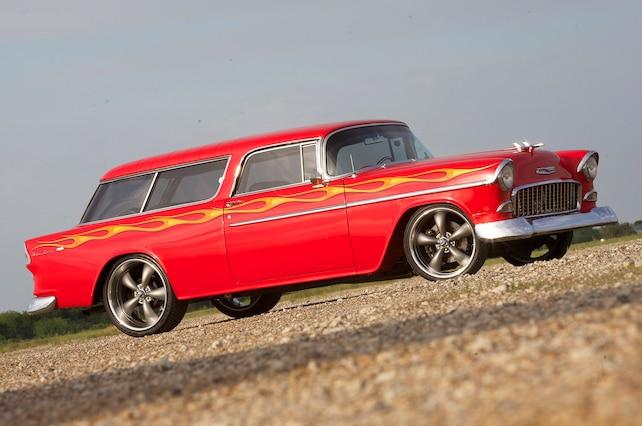 1955 Chevrolet Nomad Hot Rod Side