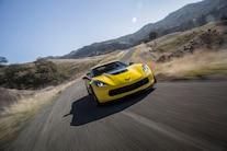 2016 Chevrolet Corvette Z06 Z07 Front End In Motion