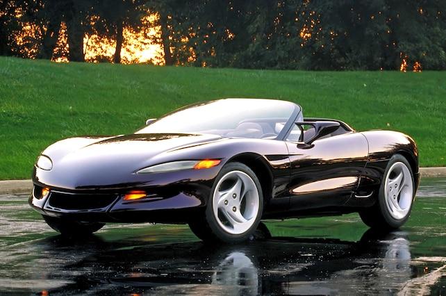 "1992 Sting Ray III Concept, AKA: ""The California Corvette"""