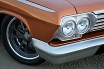 1962 Chevrolet Bel Air Custom Orange Headlights