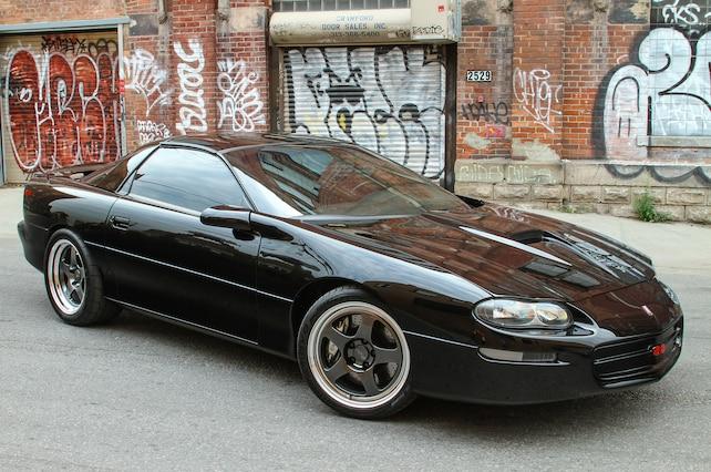 2001 Chevrolet Camaro Ss Black Passenger Side