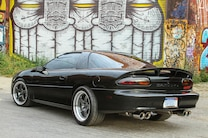 2001 Chevrolet Camaro Ss Black Rear