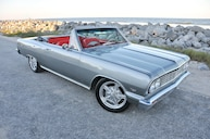 Restomod 1964 Chevrolet Chevelle Convertible is the Perfect