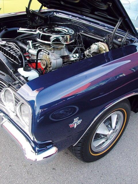 327 1966-67 Corvette Accelerator Rod