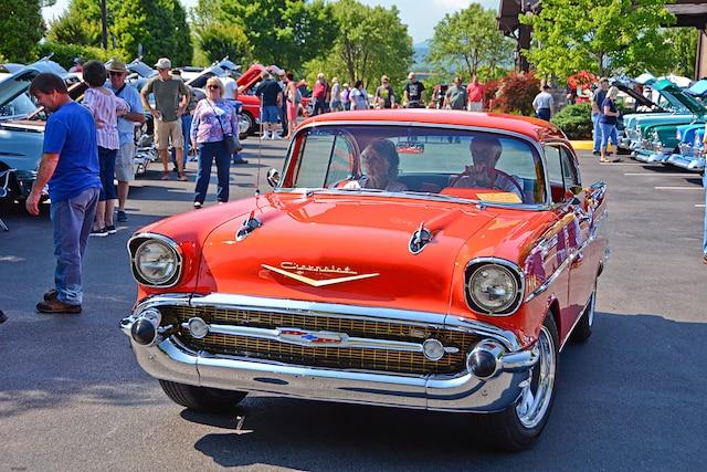 Smoky Mountain Chevrolet >> Tri Five Chevys Take Over The Smoky Mountains