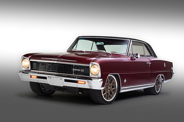 001 1966 Nova Chevy II Church Boys Pro Touring