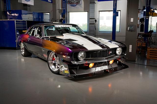 001 1969 Camaro Speedway 2018 Super Chevy Muscle Car Challenge Falken