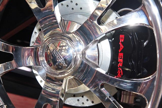 001 Tri Five Chevy Baer Brake Install