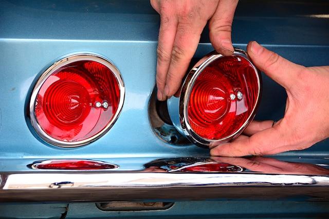 01 1964 C2 Corvette Taillight