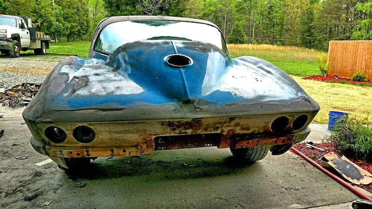 01 Rare Finds 1965 Corvette Coupe Trumble