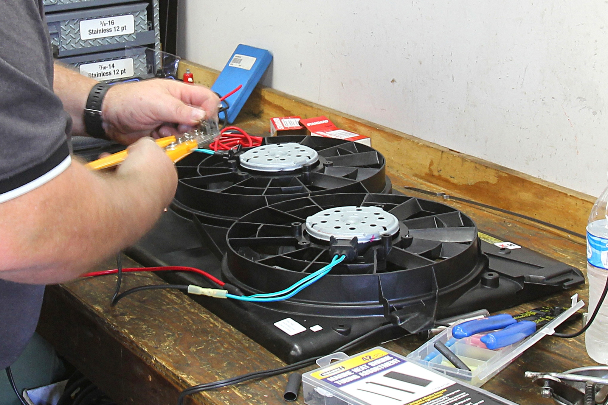 how to tame engine heat with a budget electric fan system 3 Speed Fan Switch Wiring Diagram