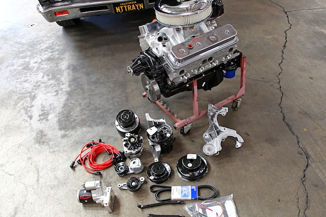 001 Chevrolet Performance Crate Engine Install