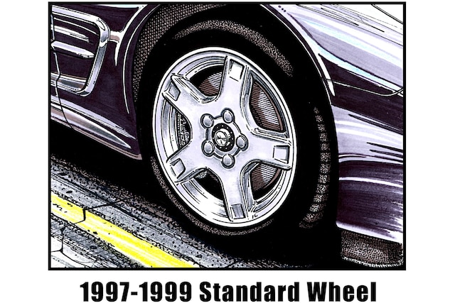The Design History of Corvette Wheels from 1997-2020
