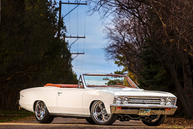 This dazzling '67 Chevelle SS was rescued and perfected!
